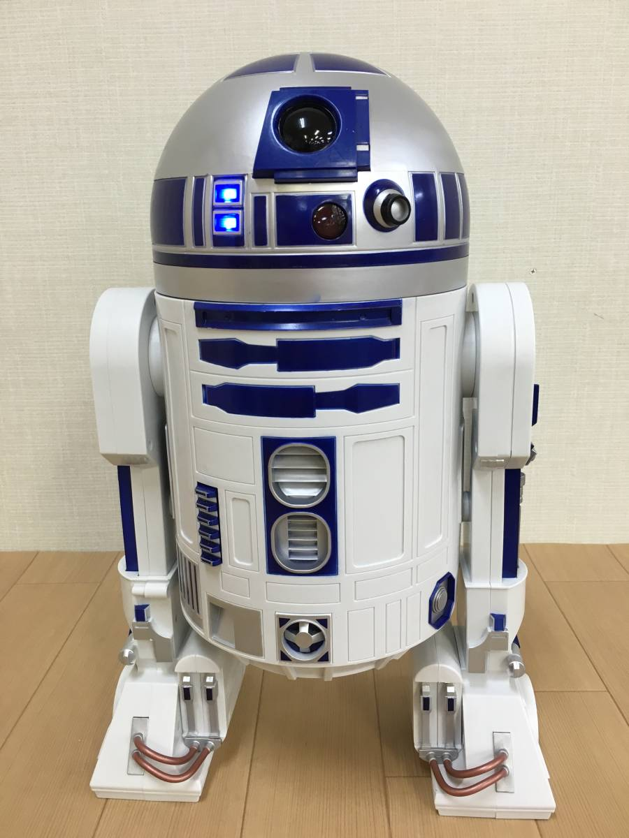 01-E322M【STARWARS/スターウォーズ】 R2-D2 45cmビッグフィギュア STARWARS DELUXE R2-D2 18inch Figure