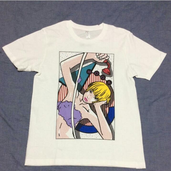 でんぱ組 米原康正 ステレオテニス スピンズ コラボ Tシャツ 最上もが M