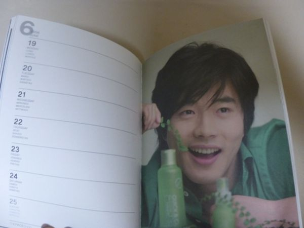 クォンサンウ 文具 韓国 KwonSangWoo 韓国俳優 ノート スケジュール帳 メモ 写真 ⑥