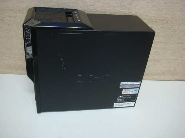acer Aspire M5621 ☆ Core 2 Quad 2.83GHz/4GB/Blu-ray HDD欠品 ジャンク_画像4