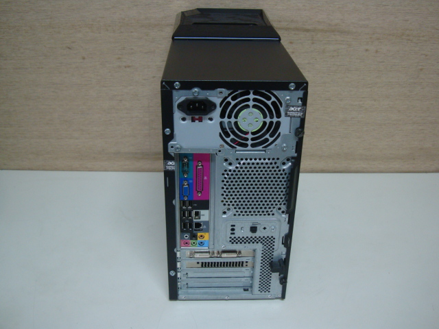 acer Aspire M5621 ☆ Core 2 Quad 2.83GHz/4GB/Blu-ray HDD欠品 ジャンク_画像7