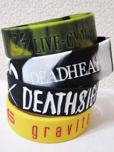 【中古】 ラバーバンド 4個セット DEADHEARTZ B'z・girugamesh[240010217789]