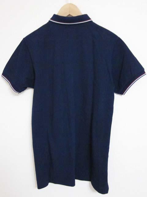 【中古】 BLUE BLUE ブルーブルー ポロシャツ M 2 紺[240010217923]_画像2