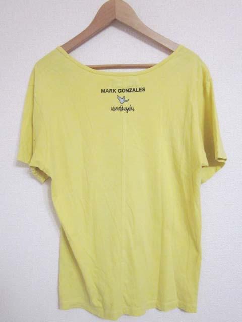 【中古】 Mark Gonzales マーク・ゴンザレス 半袖 Tシャツ M 黄[240010223110]_画像2