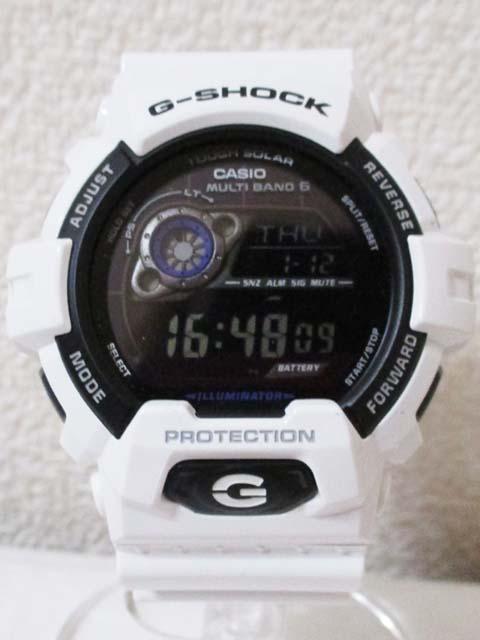 【中古】 G-SHOCK GW-8900A タフソーラー 白[240010185813]