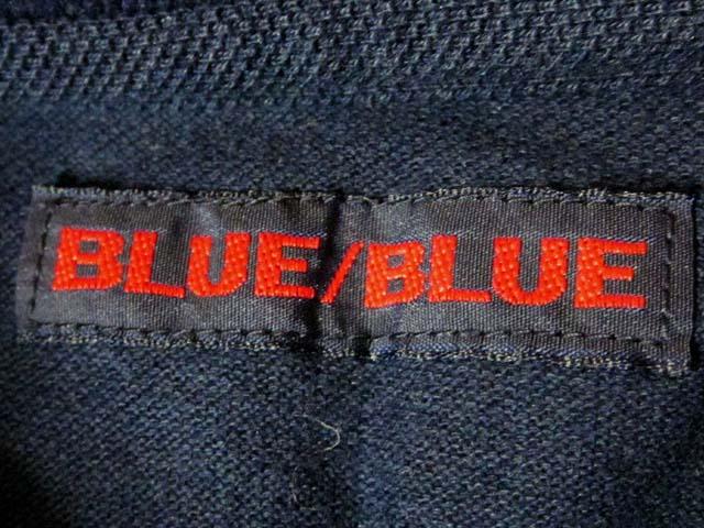【中古】 BLUE BLUE ブルーブルー ポロシャツ M 2 紺[240010217923]_画像3