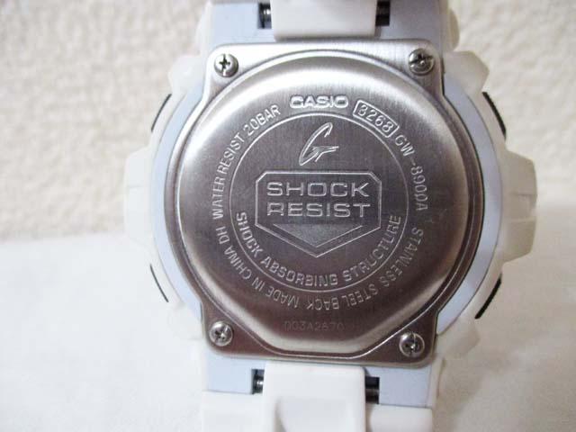 【中古】 G-SHOCK GW-8900A タフソーラー 白[240010185813]_画像3