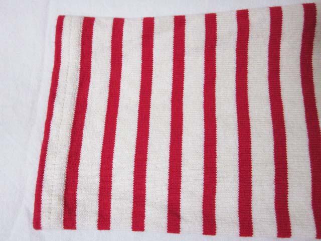 【中古】 URBAN RESEARCH アーバンリサーチ FORK&SPOON ボーダー 長袖 Tシャツ 4 赤 白[240010210719]_画像6