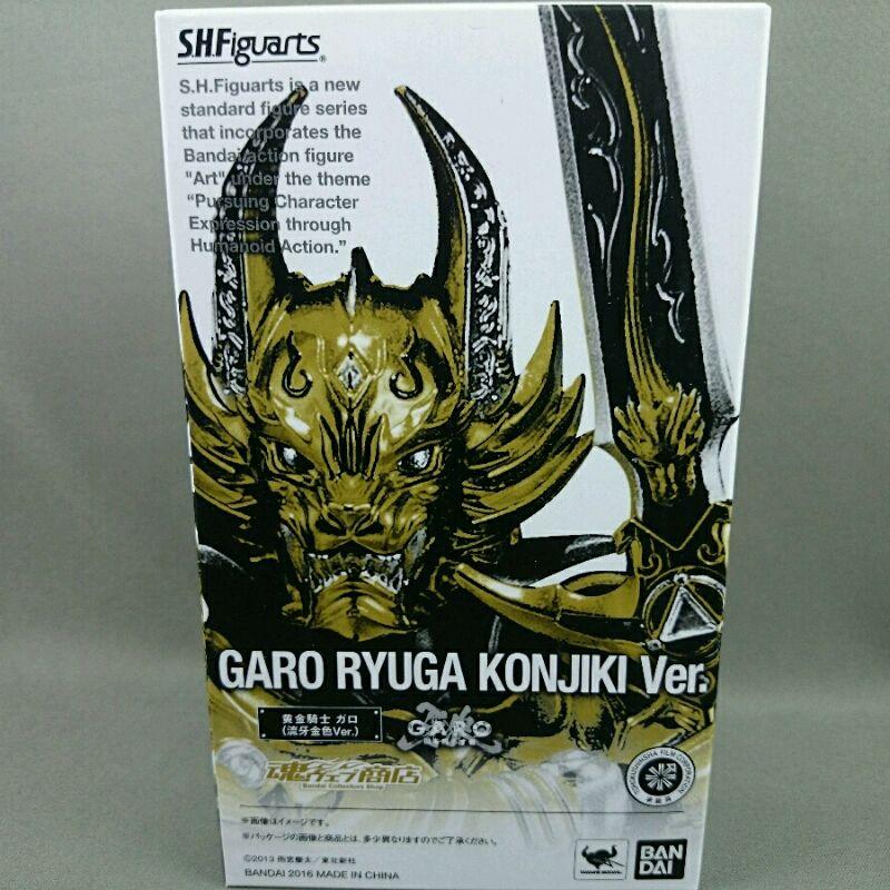 【中古】S.H.Figuarts 黄金騎士 ガロ(流牙金色Ver.)249105003482