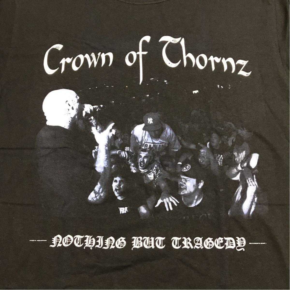【新品】CROWN OF THORNZ TシャツL NYHC hard core SKARHEAD LEEWAY MADBALL MERAUDER TERROR