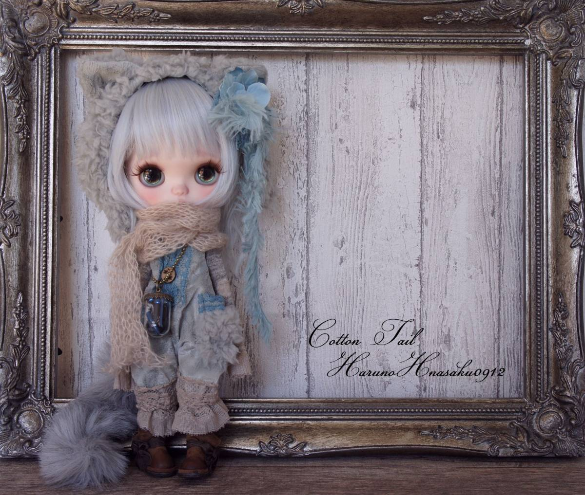 ◆CottonTail × harunohanasaku0912さま◆  ロシアンブルーの仔猫ちゃん カスタムブライス  ピュアニーSボディ