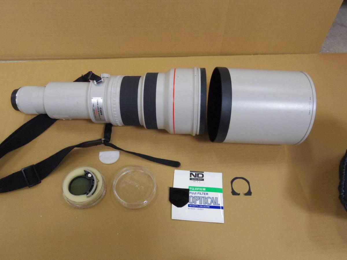 Canon/キャノン 超望遠 EF600mm F4L USM EFレンズ ケース付