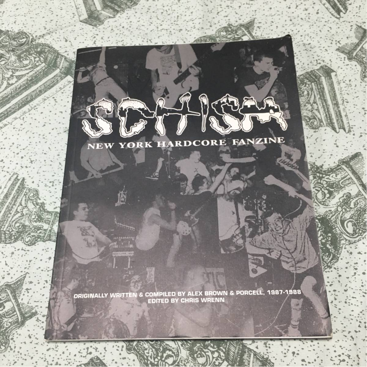 SCHISM NYHC FANZINE youth of today gorilla biscuits tシャツ