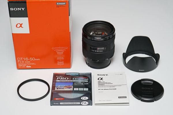 美品・ソニーDT16-50mm F2.8 SSM SAL1650【キタムラ5年保証】