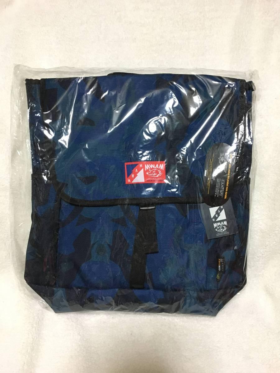デッドミート リュックサック2 MAN WITH A MISSION マンウィズツアーグッズ ガゥ CORDURA ブルー系バッグ 新品未使用