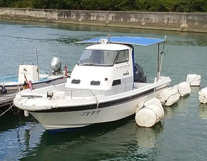 YAMAHA tackle-25 プレジャーボート 4スト150馬力  12人乗