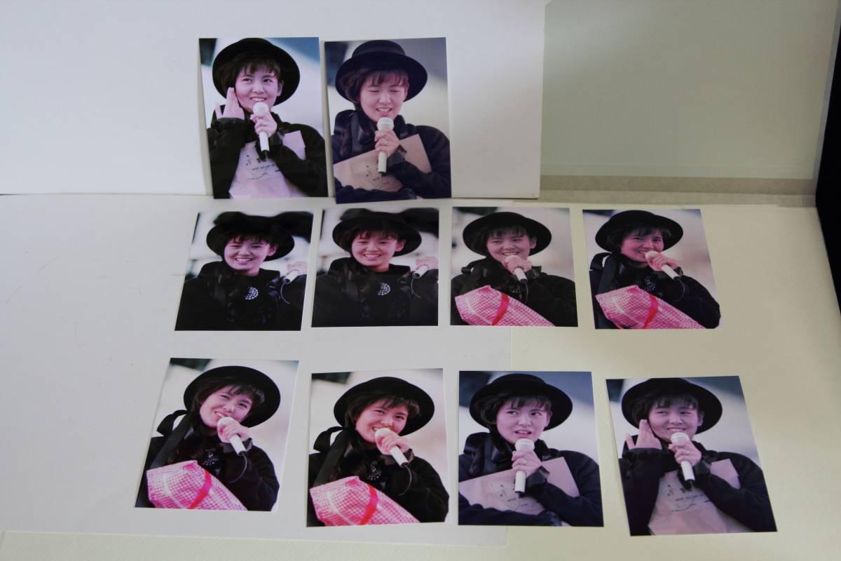 南野陽子 写真 10枚 L判 ♪高画質♪