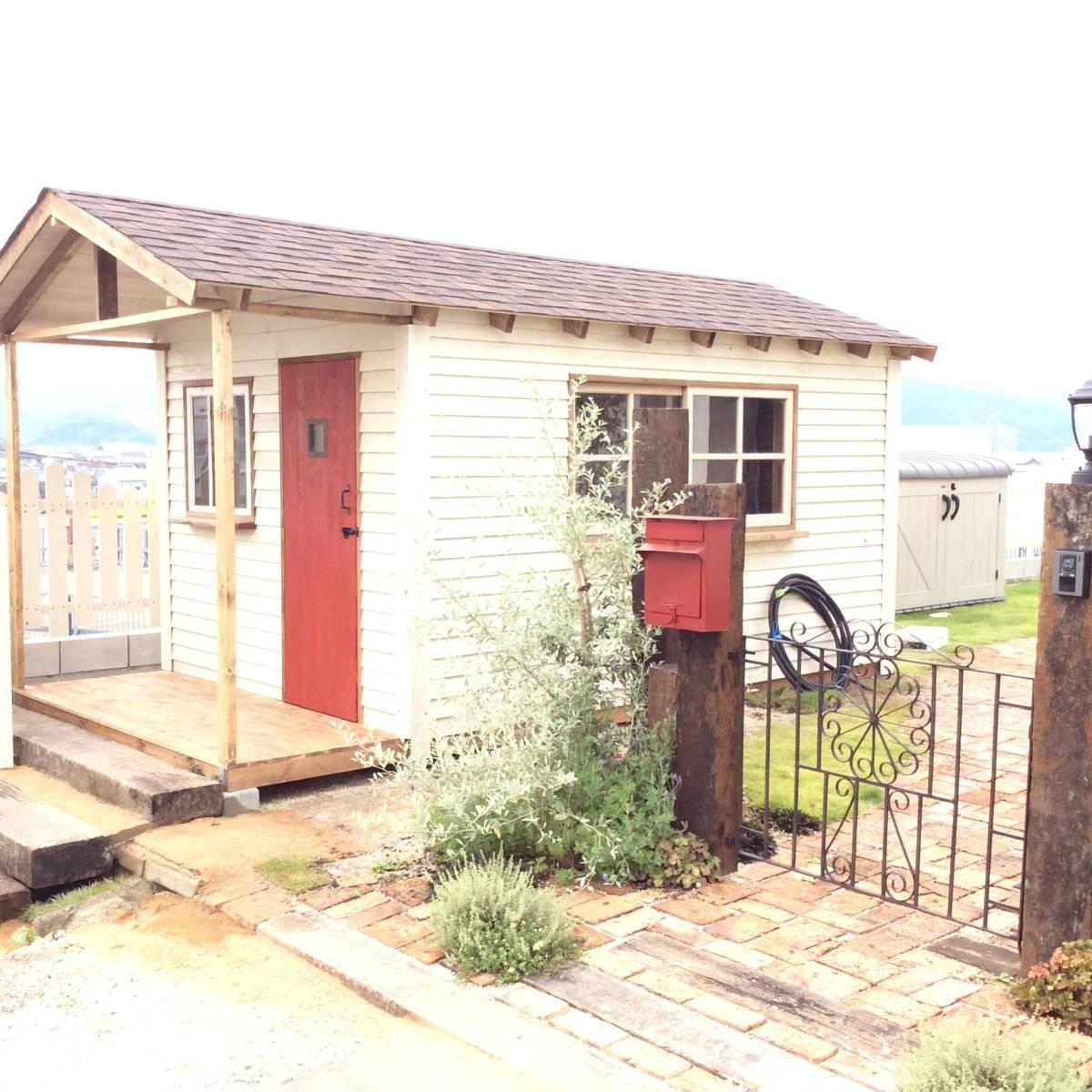物置 小屋 ログハウス コンテナ ガーデンシェッド_画像4