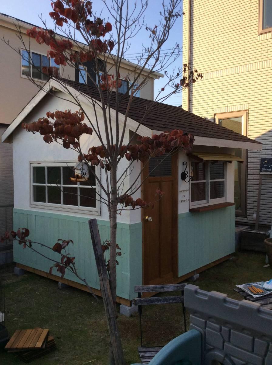 物置 小屋 ログハウス コンテナ ガーデンシェッド_画像2