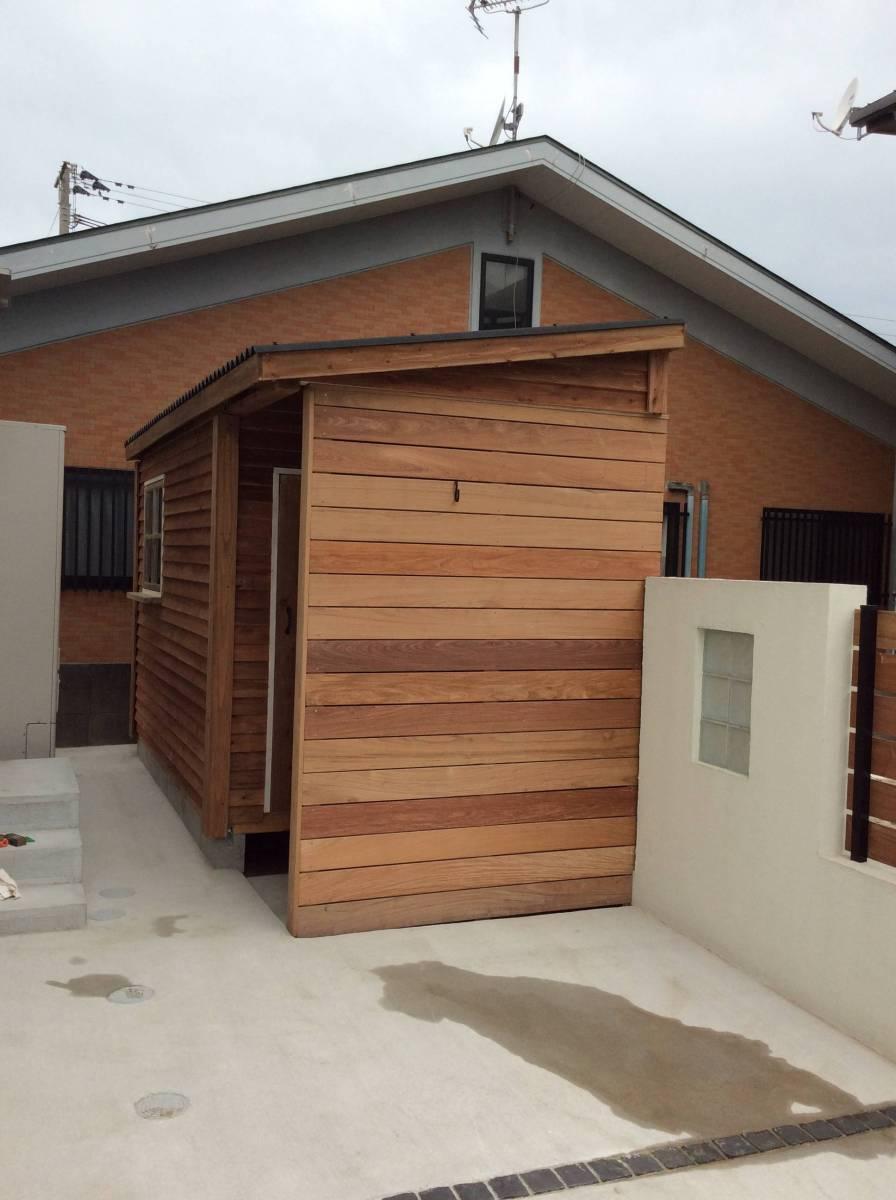 物置 小屋 ログハウス コンテナ ガーデンシェッド_画像8