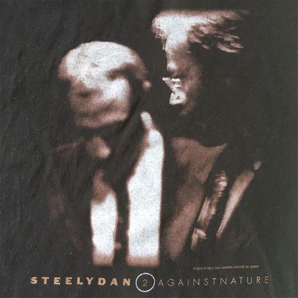 ビンテージ★Steely Dan公式Tシャツ【2000年Two Against Natureツアー】黒■スティーリーダン,Donald Fagen,バンドTシャツ,ロックTシャツ