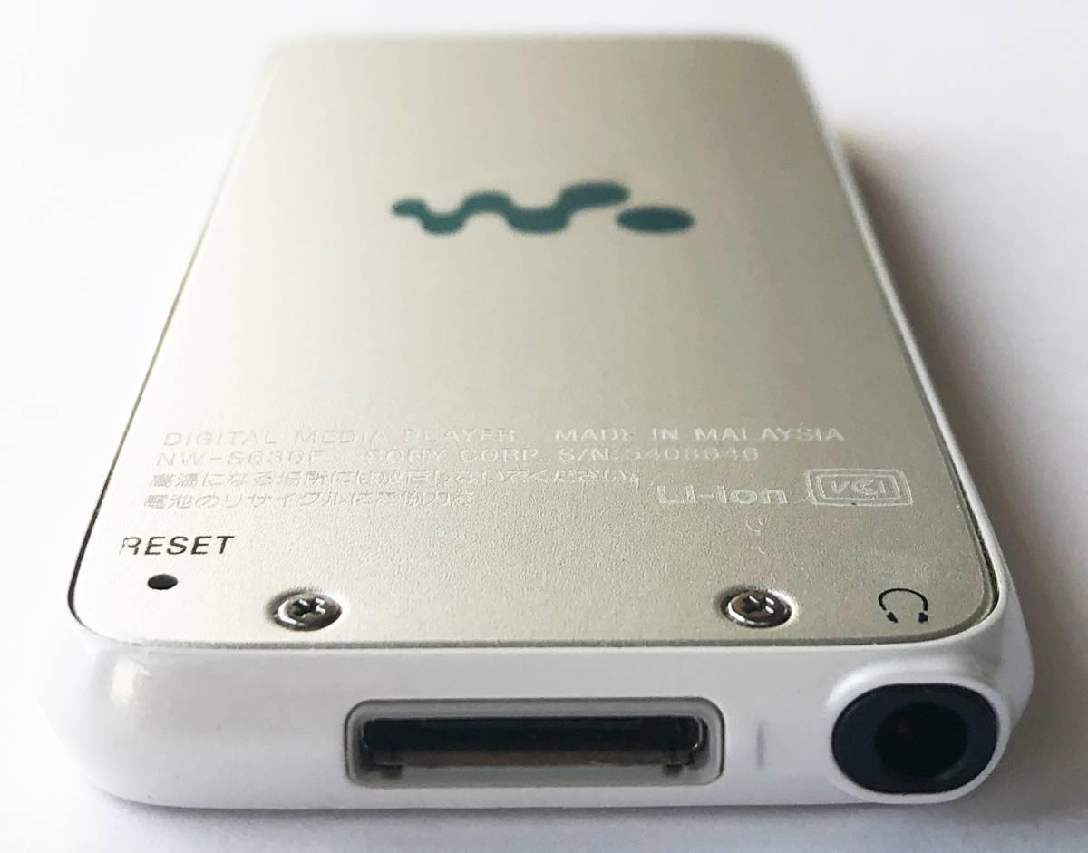 【SONY】デジタルウォークマン NW-S636F(4GB)シルバー:送料164円_画像3