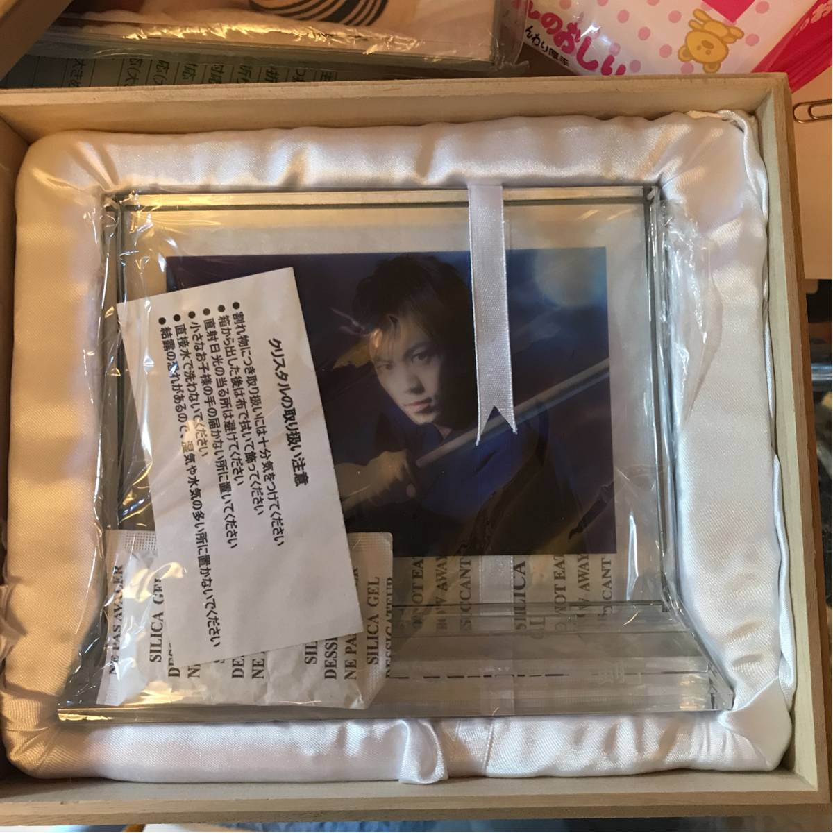 氷川きよし クリスタルスタンド 第48回 日本レコード大賞 2006受賞記念グッズ