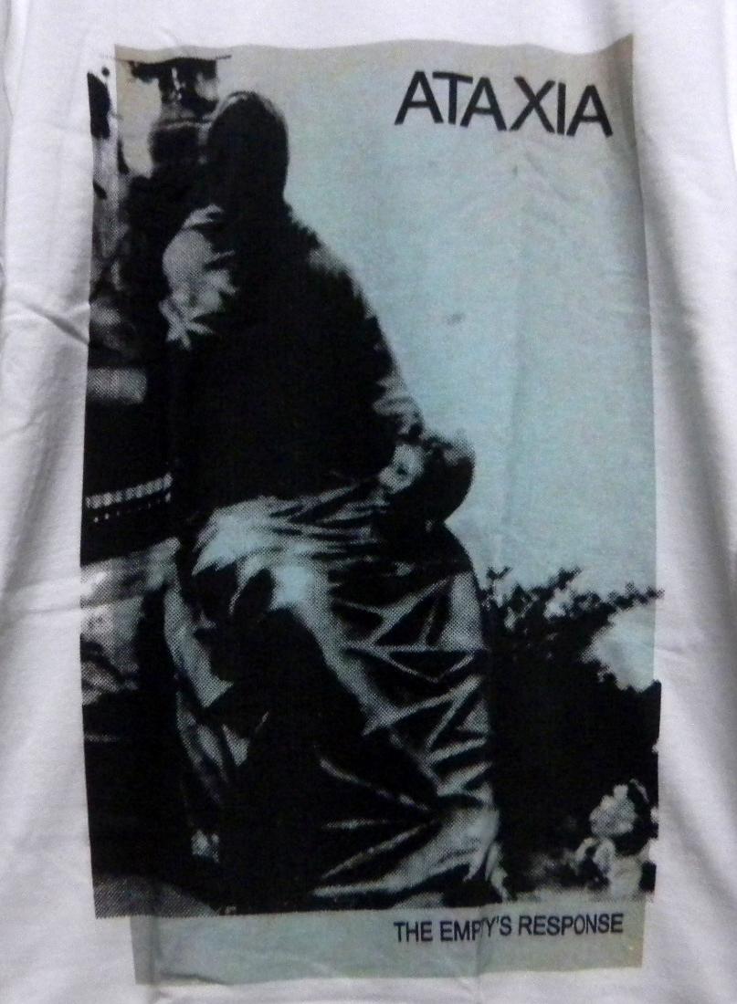 ATAXIA Tシャツ john frusciante vincent gallo sonic youth radiohead bjork pj harvey joy division nirvana my bloody valentine rhcp