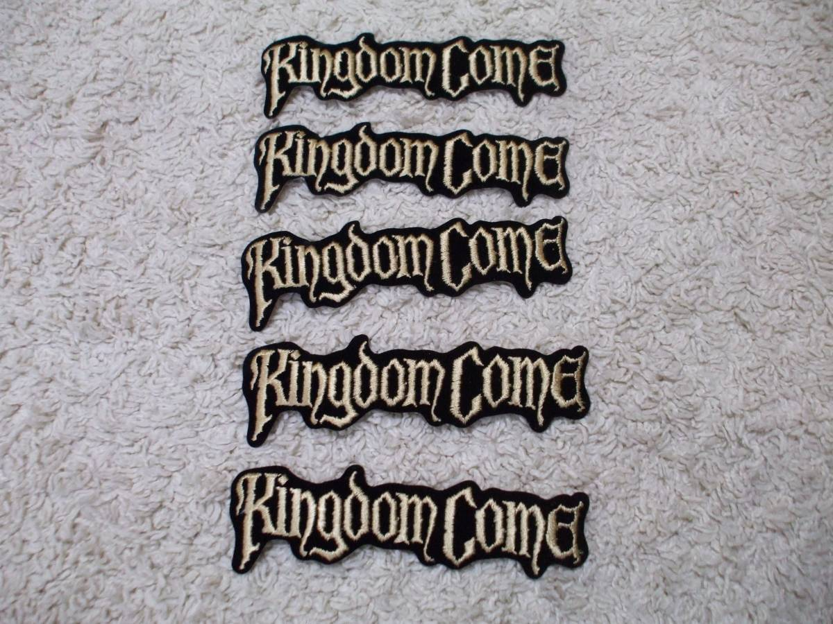 ★ KINGDOM COME ★ キングダム カム ワッペンセット ★