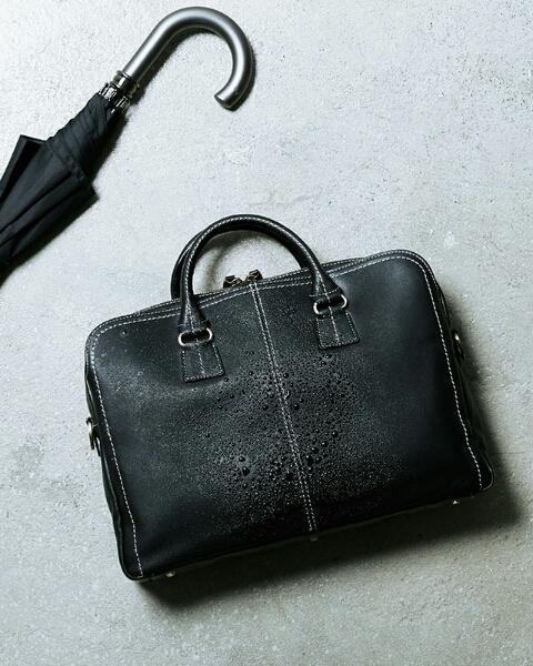 【超美品】【送料込】土屋鞄製造所 プロータ 防水ジッパーソフトブリーフ(ブラック)