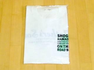 浜田省吾 ツアーTシャツ ON THE ROAD'88 新品 ライブグッズの画像