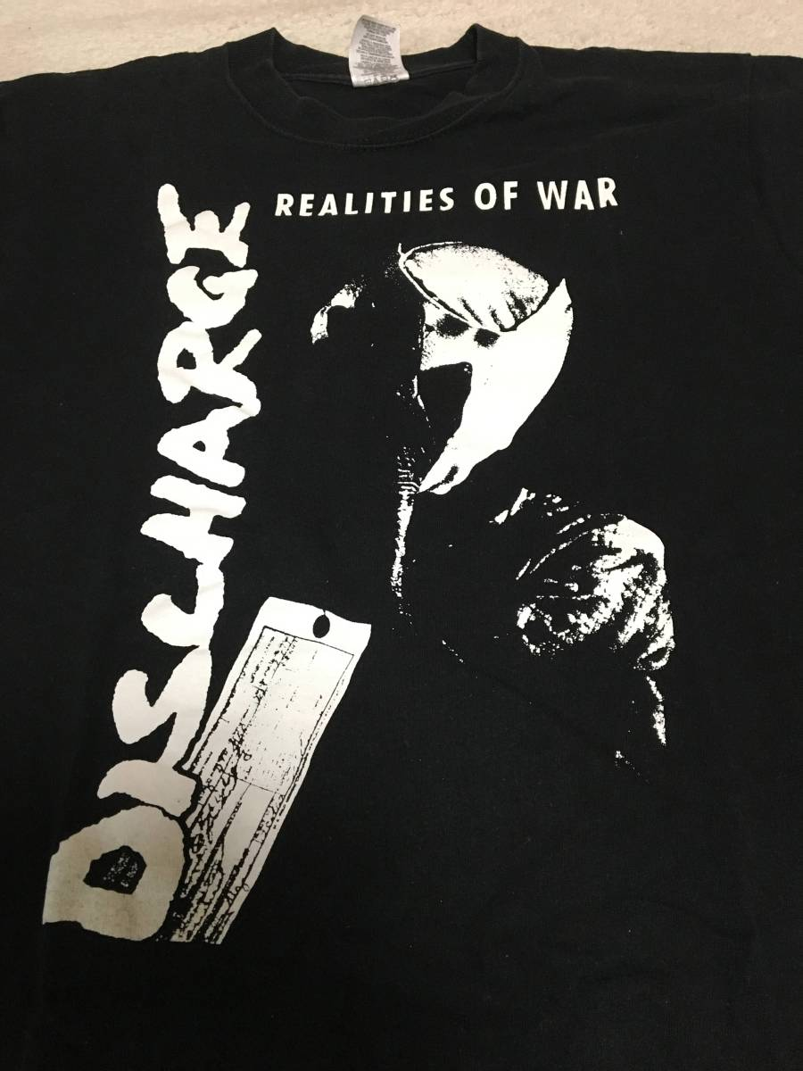 Sサイズ クラストTシャツ3枚セット売り!discharge crust gism paintbox extreme nois terror