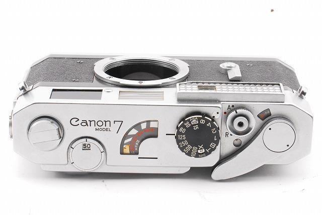 綺麗! Canon キヤノン 7 本体のみ 露出計作動_画像3