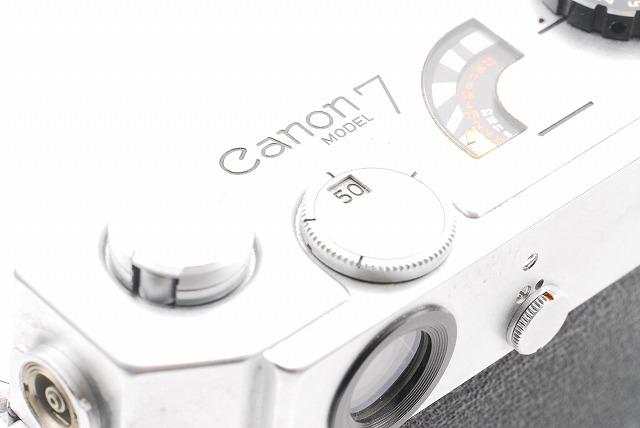 綺麗! Canon キヤノン 7 本体のみ 露出計作動_画像10