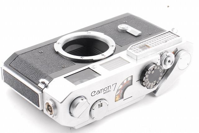 綺麗! Canon キヤノン 7 本体のみ 露出計作動