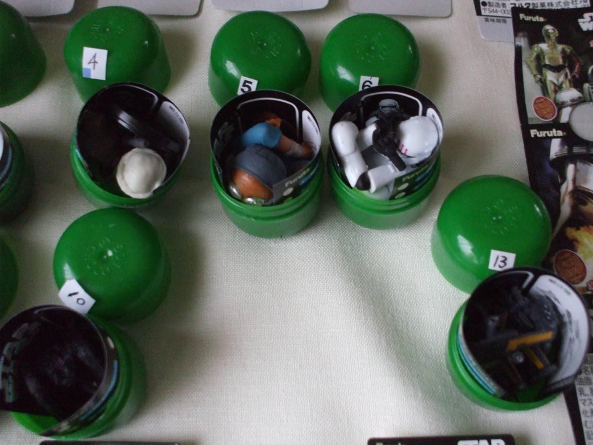 スターウォーズ2・11種セット品、11と12とシークレットなしです。_画像3