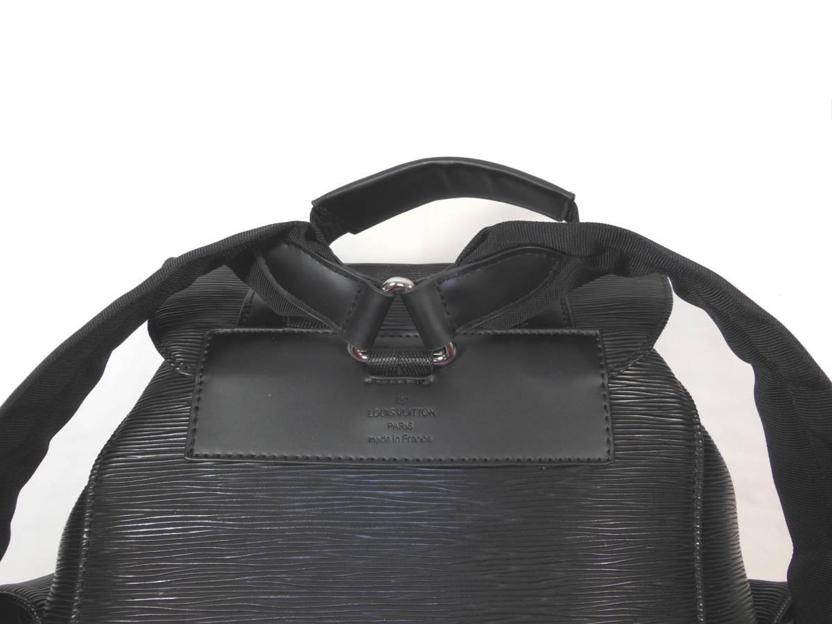 ◆Louis Vuitton◆Supreme◆ルイヴィトンとシュプリームのコラボ、バックパック◆ブラックエピ◆_画像2