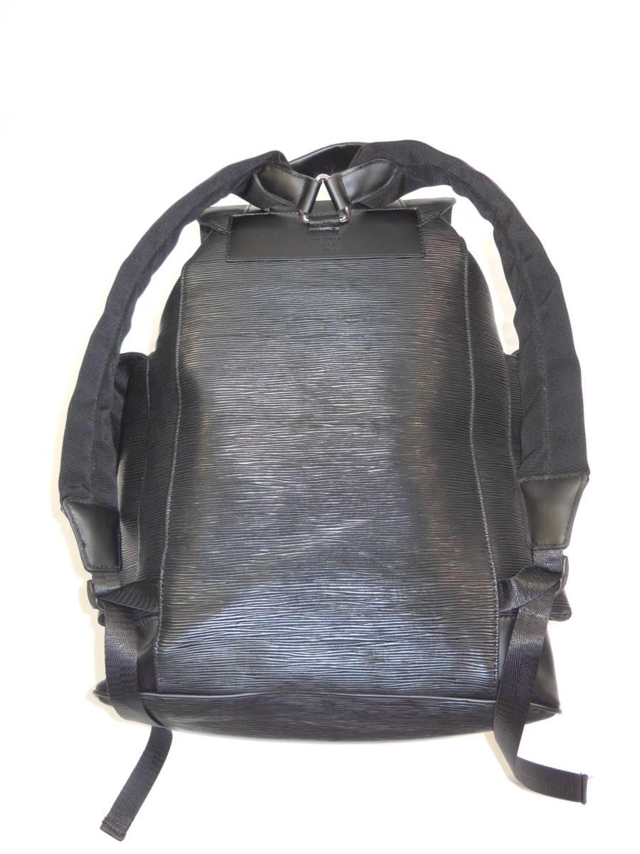 ◆Louis Vuitton◆Supreme◆ルイヴィトンとシュプリームのコラボ、バックパック◆ブラックエピ◆_画像3