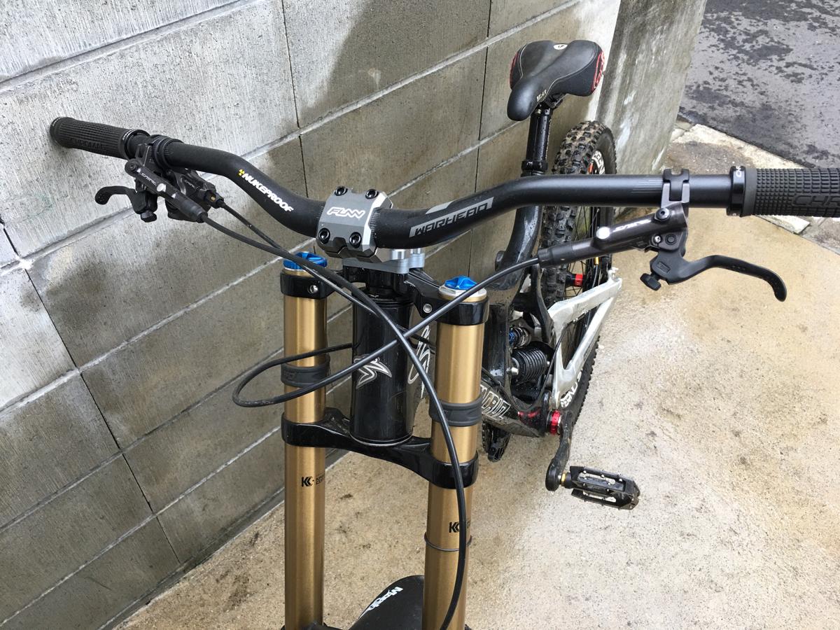 santa cruz v10 フロントのみ27.5 downhill bike_画像2
