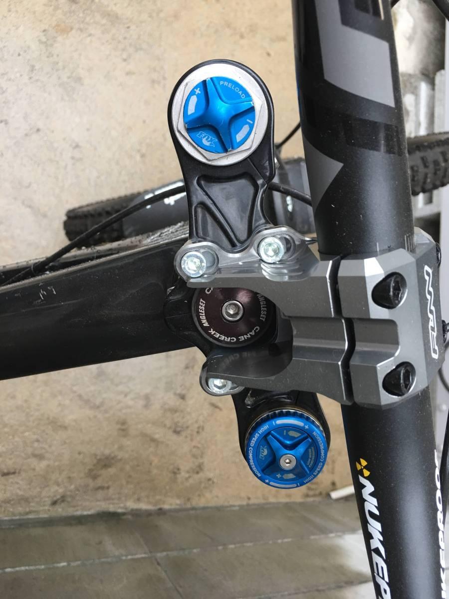 santa cruz v10 フロントのみ27.5 downhill bike_画像5