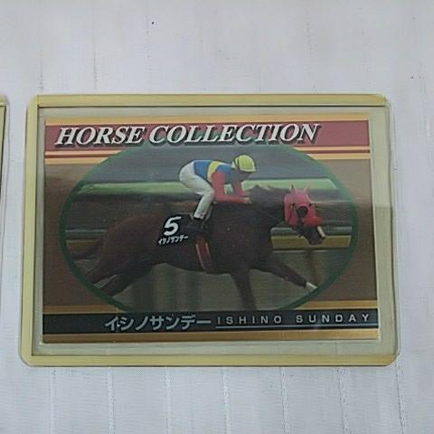 イシノサンデー ホースコレクション 競馬カード ジョッキーカード 2枚セット _画像3