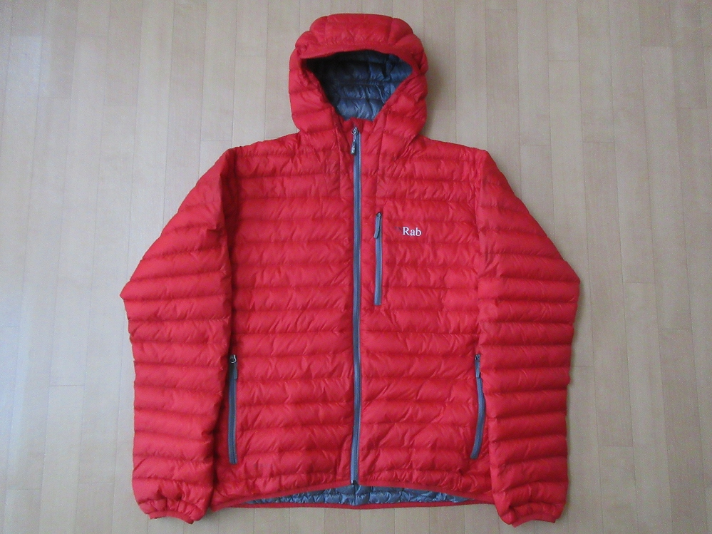 Rab MICROLIGHT ALPINE JACKET表面