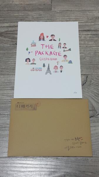 CNBLUE ヨンファ  THE  PACKAGE  ガイドブック&ポストカード ライブグッズの画像