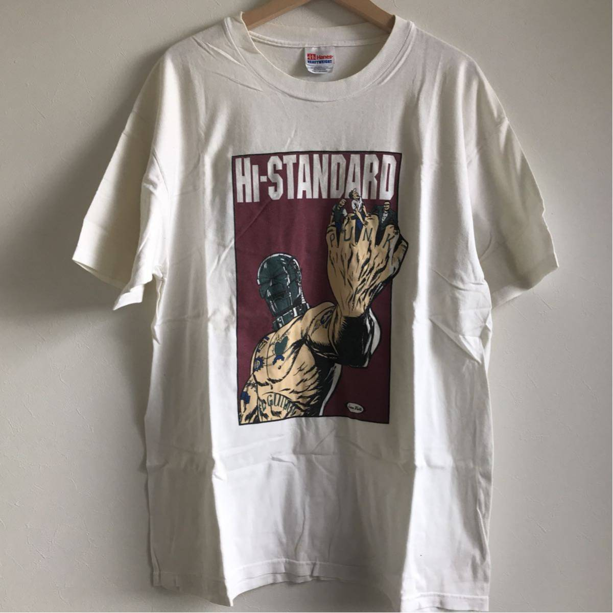Hi-Standard ハイスタンダード Tシャツ ヴィンテージ (検索 FAT wreck chords )