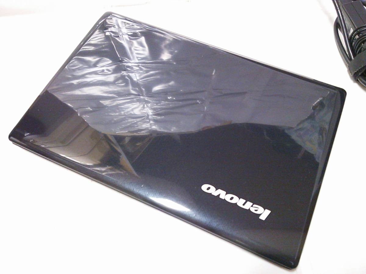 ◇整備済PC/Windows10 Home 64bit Lenovo G560 Core i3 330M 2.13GHz 4GB 500GB DVDハイパーマルチ Webカメラ 無線 Office 即使用◆_画像5
