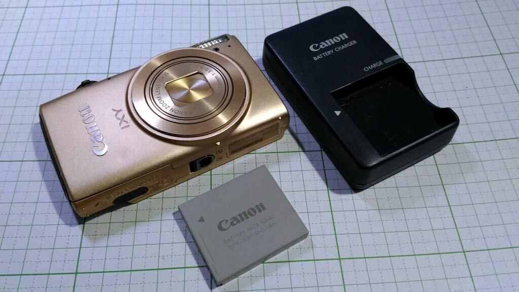Canon キャノン IXY DIGITAL 620F 1210万画素 WiFi内蔵 光学10倍ズーム