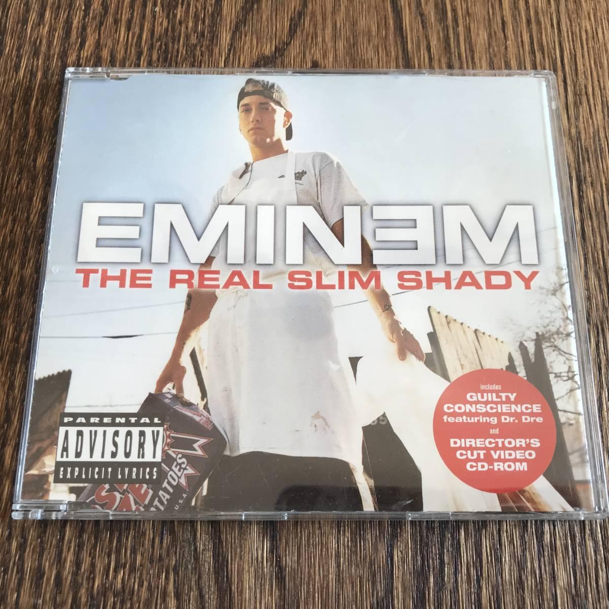 EMINEM / THE REAL SLIM SHADY [CDS]