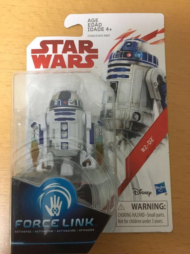スターウォーズ ベーシックフィギュア 最後のジェダイ R2-D2 FORCE LINK グッズの画像