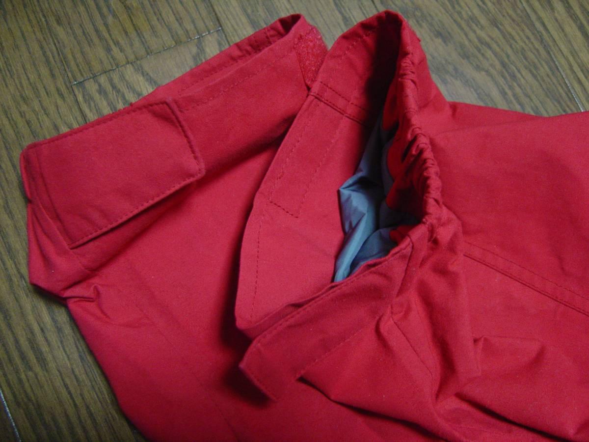 パタゴニア patagonia ストームジャケット das チリレッド 赤 99年 BTC シェル フェイス xs ジャケット ナイロン ノース xs_画像7