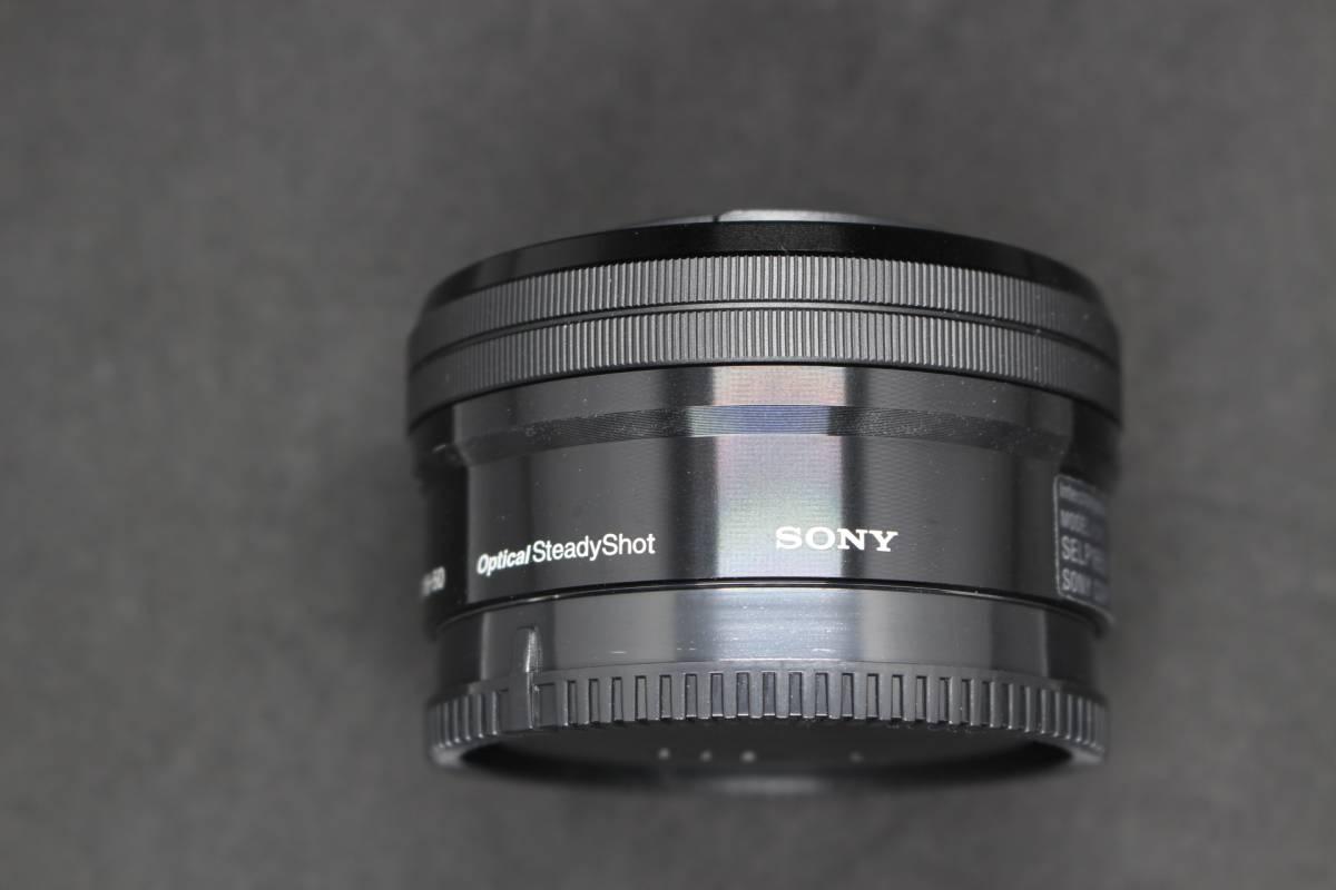 美品 SONY E PZ 16-50mm F3.5-5.6 OSS SELP1650 ソニー 保証期間内 40.5mm MC レンズフィルター 40.5-52 ステップアップリング 等 オマケ付